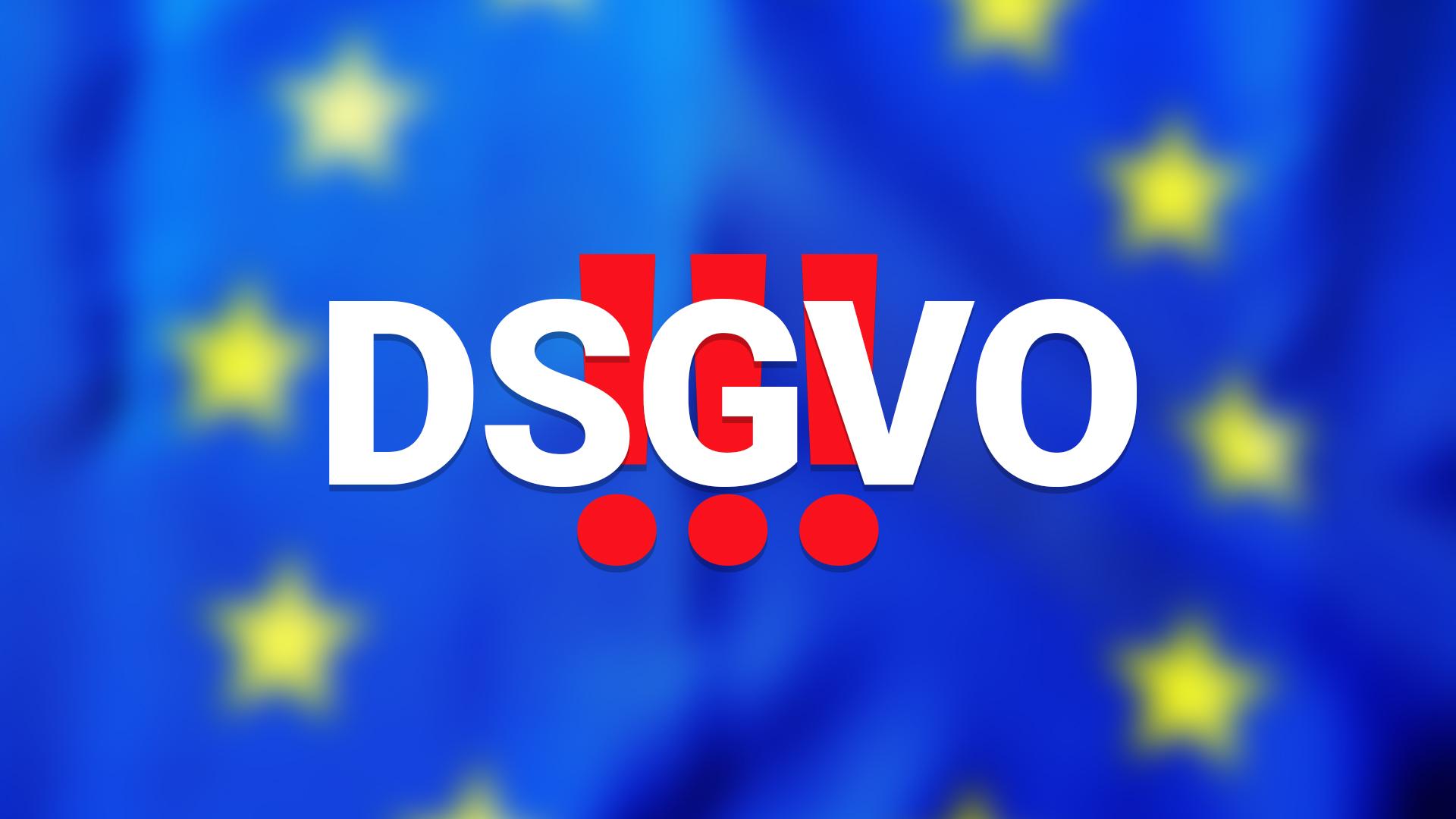 Änderungen aufgrund der DSGVO